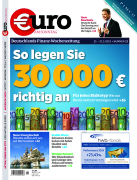 Euro am Sonntag 21/2019
